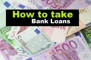 how to take loans from banks